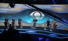 Cinco candidatos participaram do primeiro debate da eleição paulistana na Rede Bandeirantes Foto: Marcos Alves / Agência O Globo