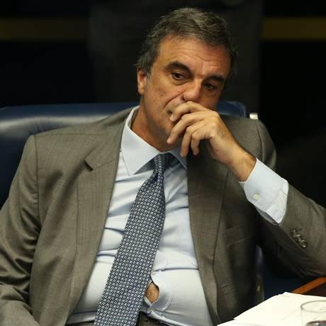 O ex-ministro José Eduardo Cardozo, que defende a presidente afastada Dilma Rousseff Foto: André Coelho / O Globo