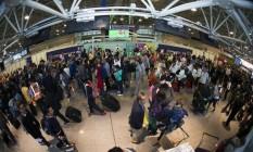Aeroporto Internacional Tom Jobim na segunda-feira pós-Olimpíada Foto: Divulgação