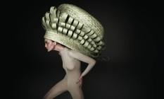 Cesto de palha de carnaúba trançada, de Marcelo Rosembaum. R$ 1.156 Foto: Divulgação