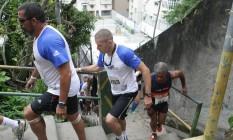 Corrida de Rua em comunidades do Leme Foto: divulgação / Agência O Globo