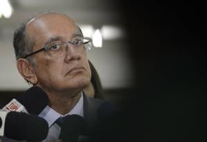 O ministro do STF Gilmar Mendes Foto: Agência Brasil