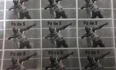 Drogas usam imagem do tricampeão olímpico Foto: Divulgação