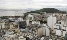 Vista panorâmica do Centro: candidatos divergem sobre propostas de revitalização da região Foto: Luiz Ackermann 11-3-2015 / Agência O Globo