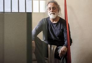 O pensador Adauto Novas: idealizador do ciclo de conferências Mutações, realizado desde 1986 Foto: Hermes de Paula / Agência O Globo