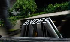 Prédio do BNDES, no Centro do Rio Foto: Pedro Teixeira / Pedro Teixeira/30-3-2016