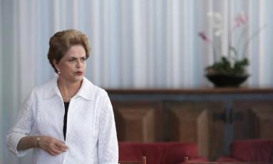 Presidente afastada, Dilma Rousseff Foto: Eraldo Peres / AP