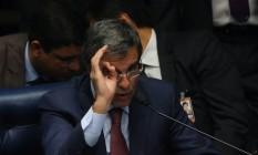Ex-ministro José Eduardo Cardozo no plenário do Senado Foto: Ailton de Freitas / Agência O Globo