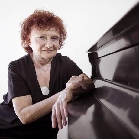 Aniversário. Pianista Clara Sverner, que completa 80 anos Foto: Leo Martins / Agência O GLOBO