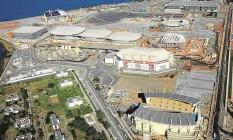 Vista do Parque Olímpico há cerca de um ano: cenário mudará mais uma vez com novas obras Foto: Genilson Araújo
