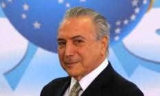 Presidente interino, Michel Temer Foto: Ailton de Freitas / Ailton de Freitas