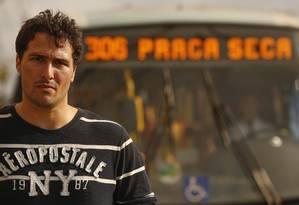 Alexandre Fiani, presidente da associação de moradores Foto: Guilherme Leporace / Agência O Globo