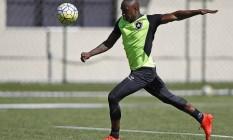 Sassá marcou três gols em dois jogos Foto: Vítor Silva / SSPress