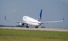 Decolagem abortada. Avião da United: voo foi cancelado por suspeita de bebedeira de pilotos