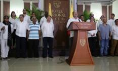 Timochenko, líder das Farc, anuncia cessar-fogo definitivo em Havana Foto: Reprodução/Twitter