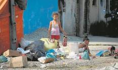 Localidade conhecida como Barracos na Cidade de Deus onde a atleta Rafaela Silva nasceu Foto: Pablo Jacob
