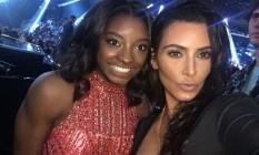 Simone Biles e Kim Kardashian Foto: Instagram