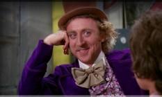 O ator Gene Wilder na versão original de 'A fantástica fábrica de chocolate' Foto: Reprodução