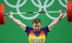 Gabriel Sincraian, halterofilista da Romênia: bronze na Rio-2016 será cassado por doping Foto: Divulgação