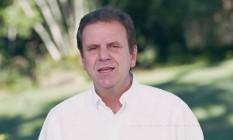 Prefeito do Rio, Eduardo Paes, participa do programa de TV de Pedro Paulo Foto: Reprodução