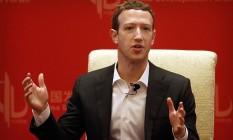 O fundador e diretor-executivo do Facebook, Mark Zuckerberg Foto: Mark Schiefelbein / AP/19-3-2016