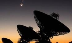 Sinais captados por astrônomos russos podem ter sido gerados no nosso planeta Foto: INSTITUTO SETI