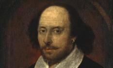 O 'retrato Chandos' de William Shakespeare, feito em torno de 1600 Foto: Reprodução