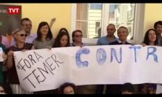 Vice-procuradora-geral da República participou de ato contra Temer Foto: Reprodução