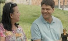 Pedro Paulo conversa com eleitores em programa eleitoral Foto: Reprodução