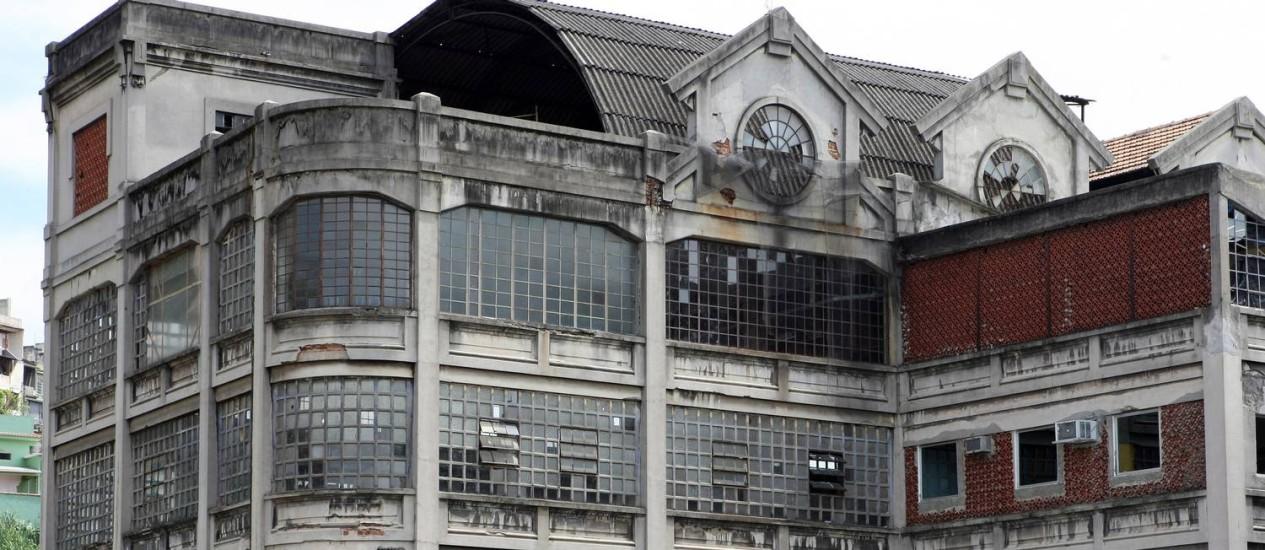Passado renovado: o prédio da Bhering preserva as características da antiga fábrica de chocolates Foto: Carlos Ivan / Agência O Globo