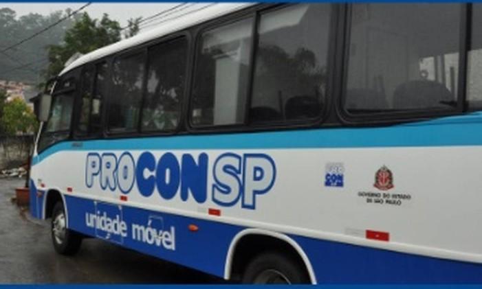 Atendimento do Procon SP Foto: Divulgação