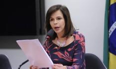 Deputada Professora Dorinha em audiência pública na Câmara dos Deputados Foto: LUCIO BERNARDO JR / Câmara dos Deputados