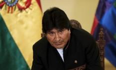 Presidente boliviano criticou atitude de presidente da OEA, Luis Almagro, por não agir contra impeachment de Dilma Foto: DAVID MERCADO / REUTERS/ 22-2-2016