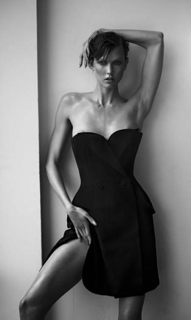 Karlie Kloss, 2013 Mariano Vivanco/ Portraits Nudes Flowers