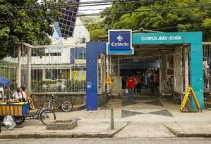 Campus da Estácio, no Rio de Janeiro Foto: Guilherme Leporace/29-10-2015