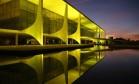 O amanhecer no Palácio do Planalto Foto: Michel Filho / Agência O Globo / 12-5-2016