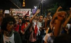 PA 30/08/2016 - Protesto pró-Dilma na Paulista. Foto Pedro Kirilos / Agencia O Globo Foto: Agência O Globo