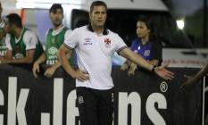 Jorginho foi vaiado e chamado de burro por torcedores do Vasco na derrota para o Vila Nova Foto: Paulo Fernandes / Vasco.com.br