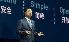 Ken Hu, diretor executivo da Hwavei, para quem a presença da companhia na América Latina ainda é pequena Foto: Divulgação