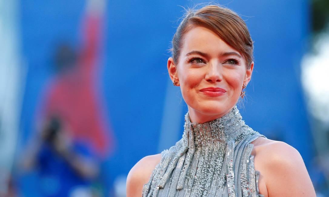 A beleza de Emma Stone ALESSANDRO BIANCHI / REUTERS