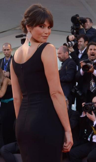 A atriz britânica Gemma Arterton FILIPPO MONTEFORTE / AFP