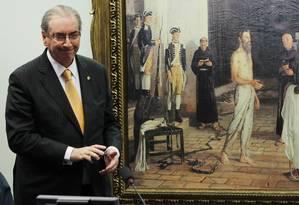 Ex-presidente da Câmara Eduardo Cunha Foto: Givaldo Barbosa / Agência O Globo