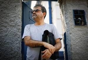 """Aperto. Antônio Cláudio Menezes sofre com atraso no salário: """"Estou vivendo de favor e não tenho dinheiro para oficializar minha separação"""" Foto: Agência O Globo / Pablo Jacob"""