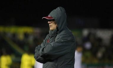 O técnico do Fluminense, Levir Culpi, em foto de arquivo Foto: Fluminense
