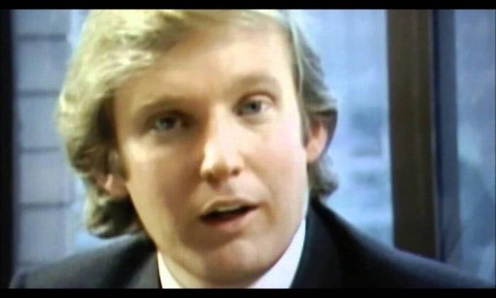 Donald Trump era descrito como jovem e ambicioso empresário nos anos ...