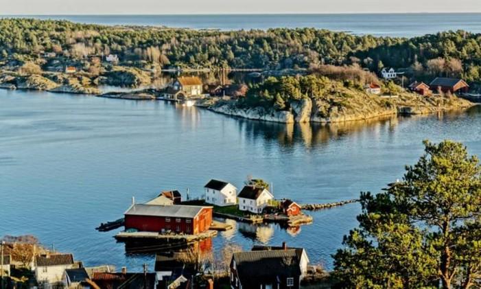 Kristiansand, na Noruega. Foto: Reprodução / Booking.com