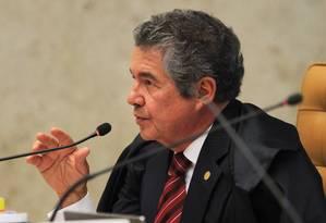 Ministro criticou decisão de fevereiro que autorizou réu a ser preso antes de esgotar todas possibilidades de recurso judicial Foto: Ailton de Freitas / Agência O Globo