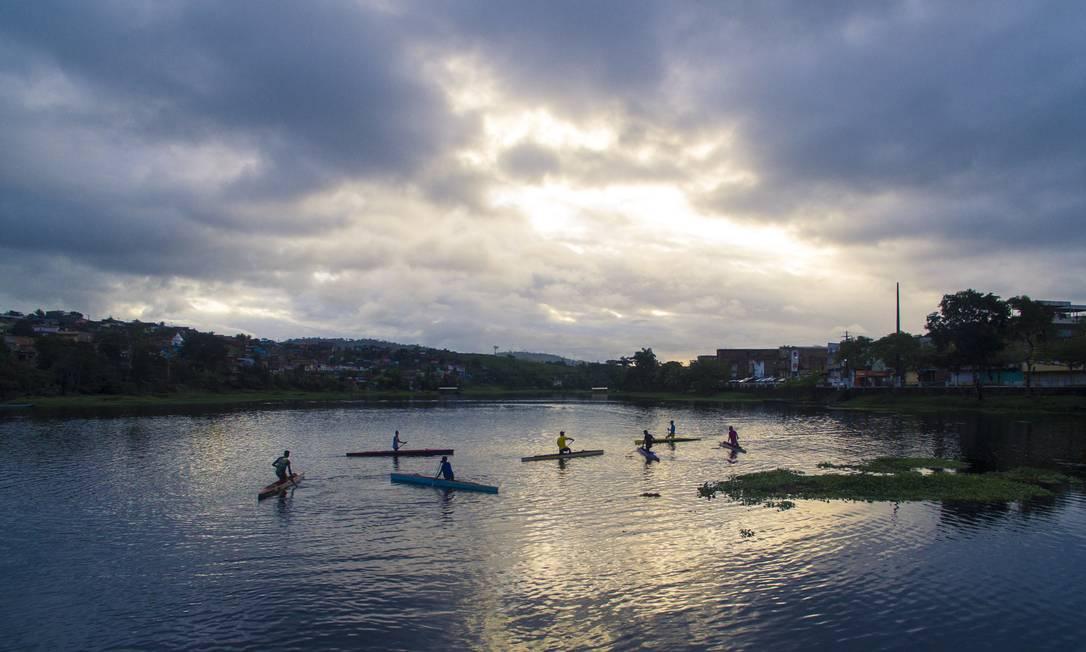 Fim de tarde no rio Daniel Marenco / Agência O Globo