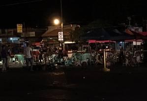 Mercado é atingido por explosão em Davao, nas Filipinas Foto: Reprodução/Twitter