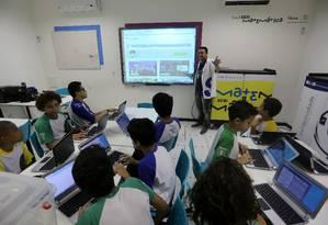 Professores poderão se aposentar pela normais atuais, pagando pedágio de 50% Foto: Guilherme Pinto / Agência O Globo